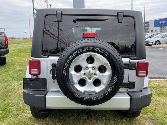 2014 Jeep Wrangler Unlimited Sahara Columbus Oh Zanesville Mt Vernon Coshocton Ohio 1c4bjweg0el229413